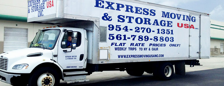 Movers in Pompano Beach, Small Move